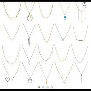 Jewelry - Layering necklace set